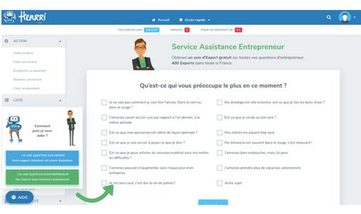 Service Assistance Entrepreneur Henrri