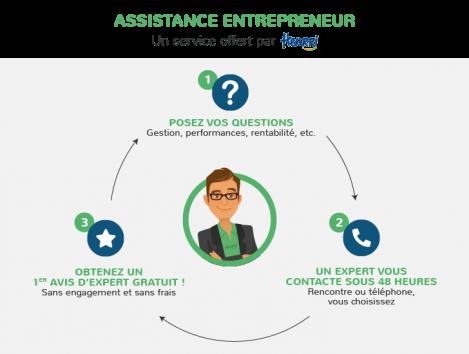 Schema Assistance Entrepreneur Henrri