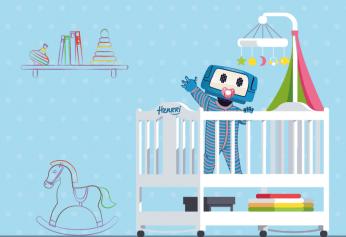 Henrri bébé robot