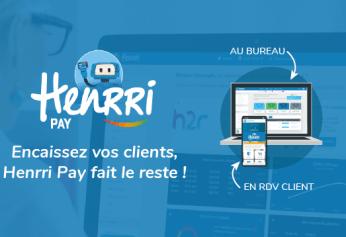"""""""Henrri Pay"""" une solution de paiement en ligne qui améliore la gestion de votre entreprise par l'intégration automatique dans votre facture"""
